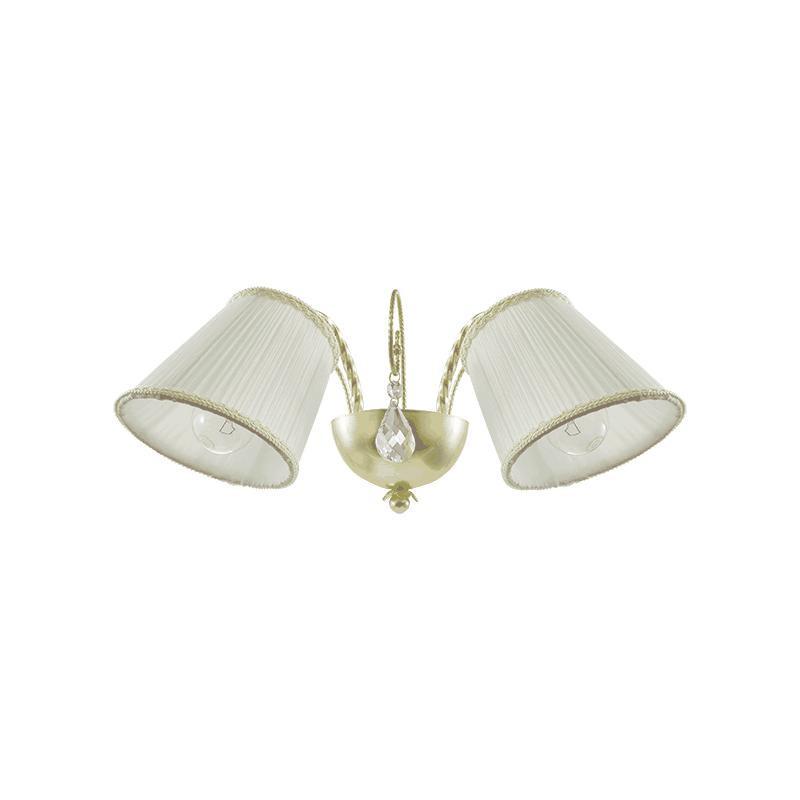 Lightstar 796623 (SB1115-2) Бра ESEDRA 2x40W E27 GOLD FOIL ткань, шт citilux cl254161
