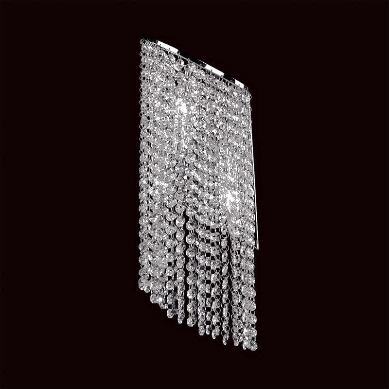 Lightstar 709624 (MB500017-2) Бра NUVOLA 2х40W E14 ХРОМ, шт настольная лампа коллекция nuvola 709912 золото прозрачный lightstar лайтстар
