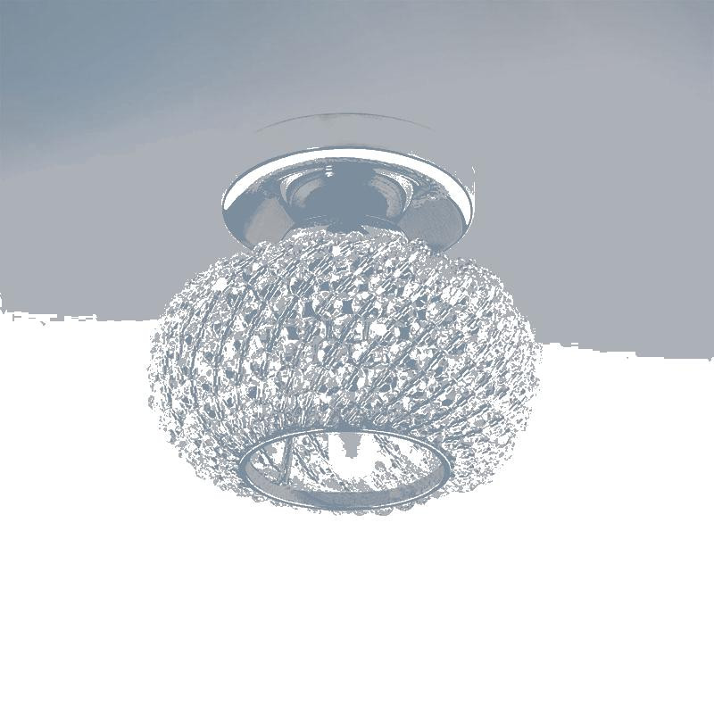 Lightstar 160304 Светильник MONILE TOP CR G9  ХРОМ/ПРОЗРАЧНЫЙ, шт lightstar люстра lightstar torcia 10х40w g9 белый ls 780100