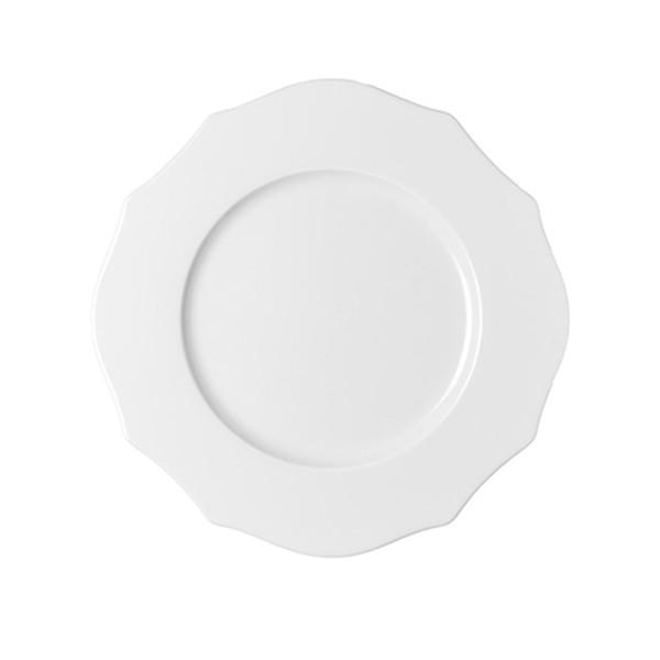 цена Guzzini Тарелка обеденная belle epoque белая онлайн в 2017 году