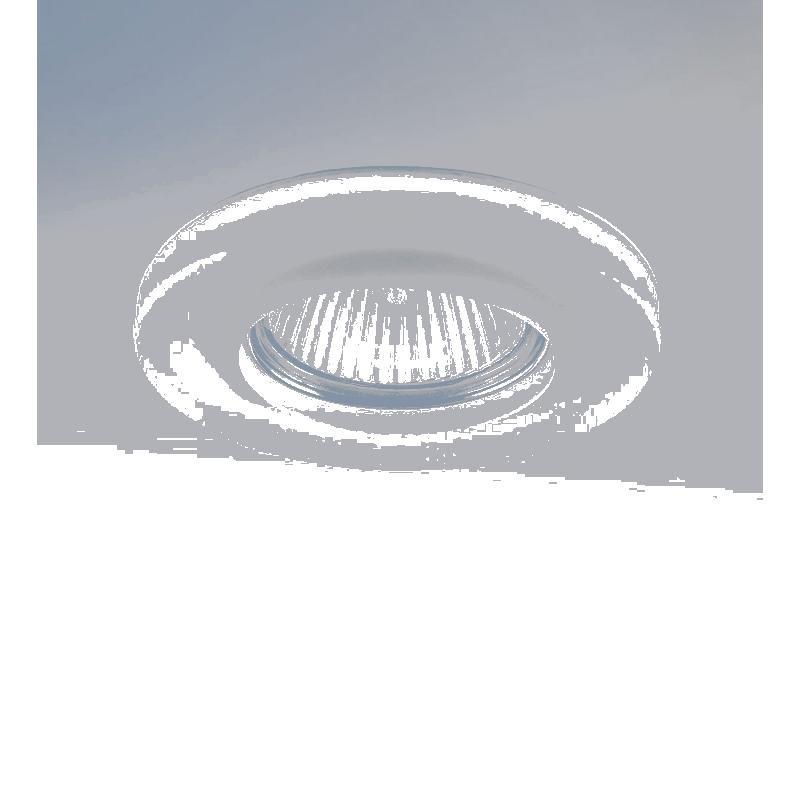 Lightstar 002240 (GM870) Светильник ANELLO OP MR16 ХРОМ/БЕЛЫЙ, шт