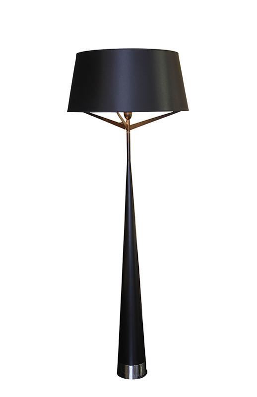 Artpole Светильник напольный Glanz F, E27, 1х100 Вт, Н170хD60, черный (2 кор.), шт