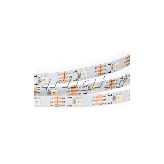 Arlight Лента SPI 2-5000-AM 5V RGB-White (5060,150 LED x1) лента arlight 021412