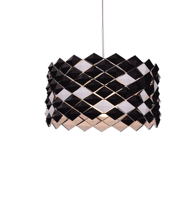 Artpole Светильник подвесной Mosaik C BK, E27, 1х100 Вт, H200 (макс)хD48, черный artpole светильник подвесной melone c bk e14 1х25 вт h11 5 200 макс хd24 9 черный шт