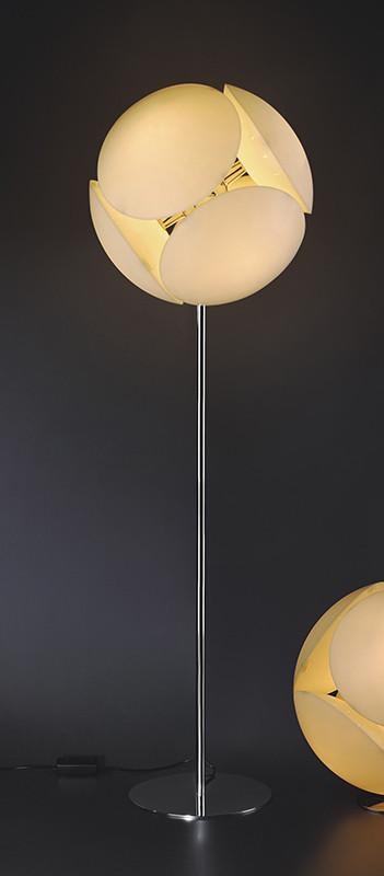 Artpole Светильник напольный Sonnenscheibe F, E14, 6х25 Вт, Н162,5хD50, белый (2 кор.), шт