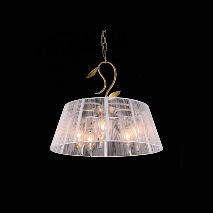 Artpole Светильник подвесной Gelassenheit C13, G9 5х40 Вт, H55хD50, античное серебро, золото, шт artpole светильник подвесной melone c bk e14 1х25 вт h11 5 200 макс хd24 9 черный шт