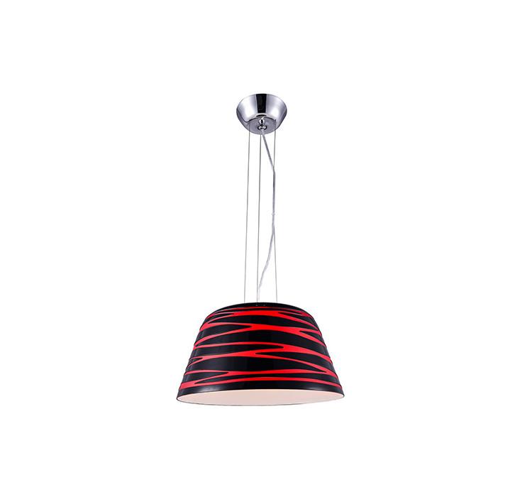 Artpole Светильник подвесной Muster P1, E27 3х40 Вт, H120(макс)хD38, красно-черный, шт artpole светильник подвесной muster p3 e27 3х40 вт h120 макс хd38 черно янтарный шт
