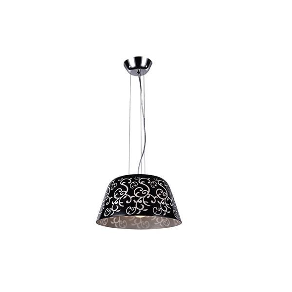 Artpole Светильник подвесной Muster P2, E27 3х40 Вт, H120(макс)хD38, черно-белый, шт artpole светильник подвесной muster p3 e27 3х40 вт h120 макс хd38 черно янтарный шт