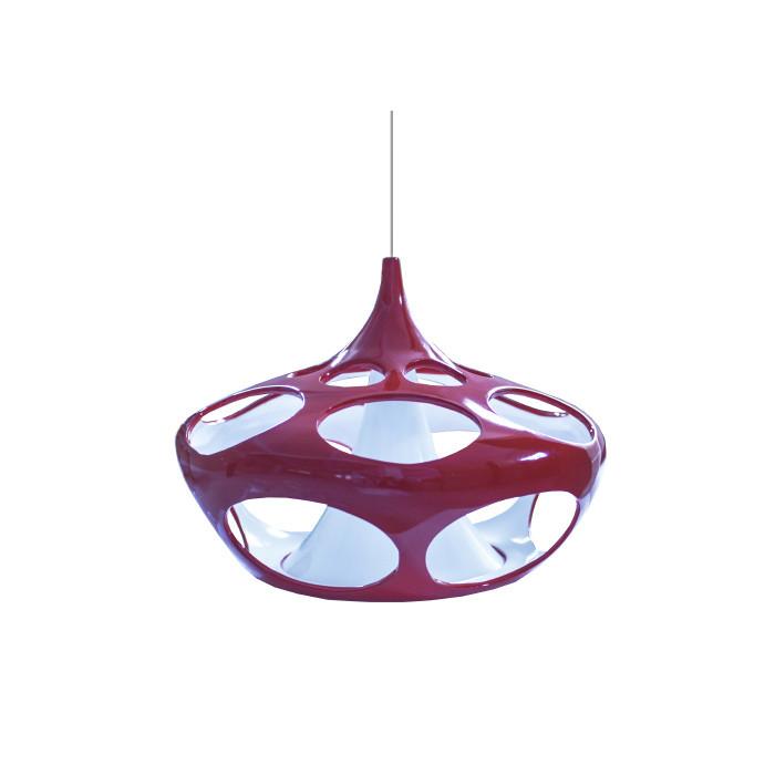 Artpole Светильник подвесной Zwiebel C3 WH, E27/1*60W, H150хD53.7, красно-белый, шт beim hauten der zwiebel