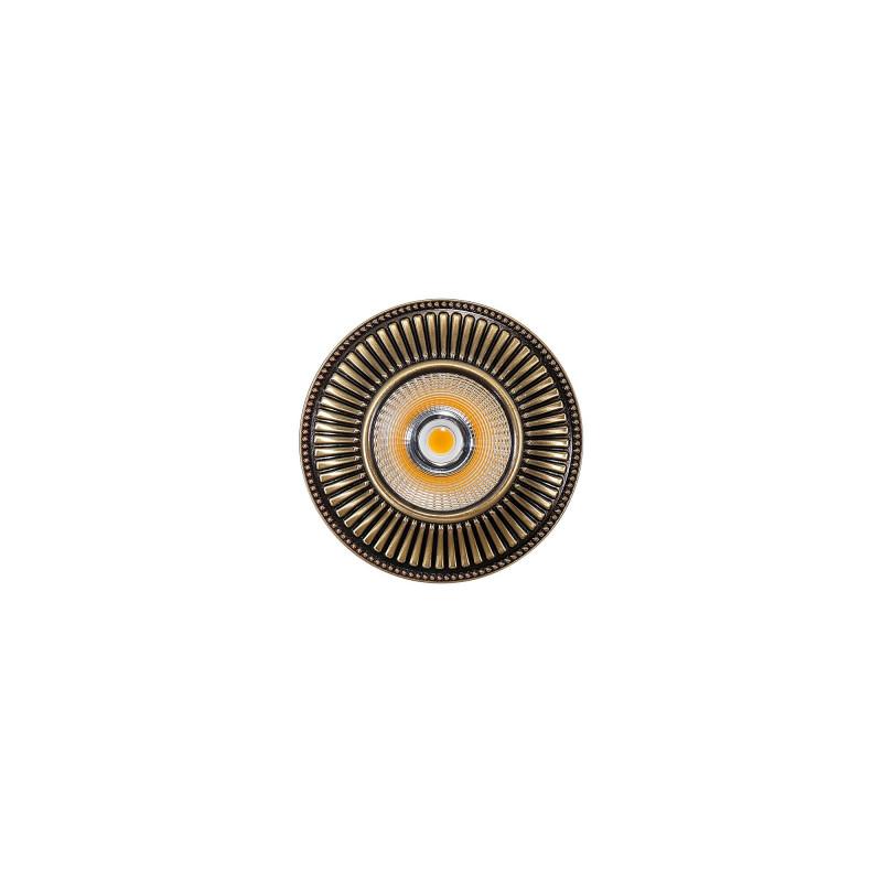 Citilux CLD042W3 Дзета Бронза LED Св-к Встраив. шорты дзета