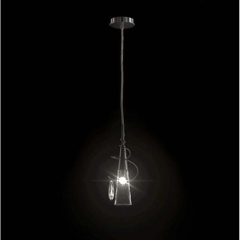 Lightstar 711014 (SD1105/1)  Люстра AEREO 1х25W G9 CHROME, шт lightstar люстра lightstar torcia 10х40w g9 белый ls 780100
