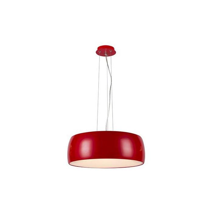 Artpole Светильник подвесной Diskus P2, E27 9х9 Вт, H120 (макс)хD48, красный, шт
