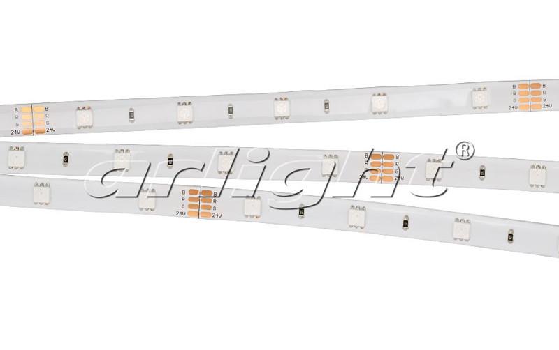Arlight Лента 5 метров RTW 2-5000SE 24V RGB (5060, 150 LED, LUX) лента arlight 007376