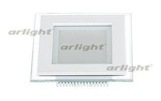 Arlight Светодиодная панель LT-S96x96WH 6W Warm White 120deg projector lamp with housing poa lmp109 610 334 6267 lmp109 for sanyo plc xf47
