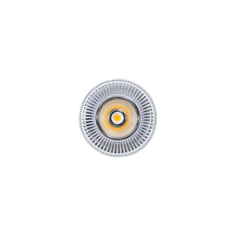 Citilux CLD042W1 Дзета Белый+Хром LED Св-к Встраив. шорты дзета