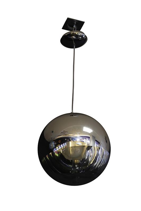 Artpole Светильник подвесной Raumschiff C3, E27, 1х60 Вт, H30-200 (макс)хD30, хром, шт artpole светильник подвесной melone c bk e14 1х25 вт h11 5 200 макс хd24 9 черный шт
