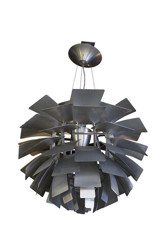 Artpole Светильник подвесной Illusion C2, Е27, 7х40 Вт, H200 (макс)хD100, серебро artpole светильник подвесной melone c bk e14 1х25 вт h11 5 200 макс хd24 9 черный шт