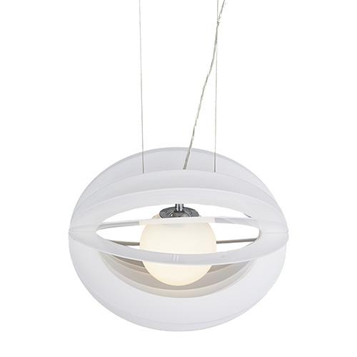 Фото Artpole Светильник подвесной Mond C5 WT E27, 1х60 Вт, H120хD50, белый, шт. Купить с доставкой