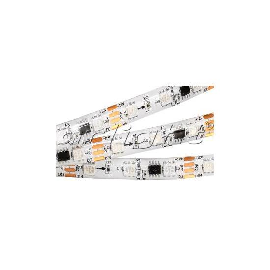Arlight Лента 5 метров SPI-5000SE-AM 12V RGB (5060, 300 LED x3,1804) лента arlight 015974
