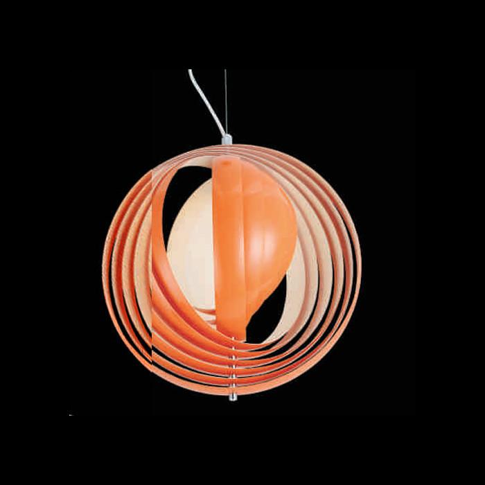 Фото Artpole Светильник подвесной Mond C2 OR, E27, 1х60 Вт, H180хD42,5, оранжевый. Купить с доставкой