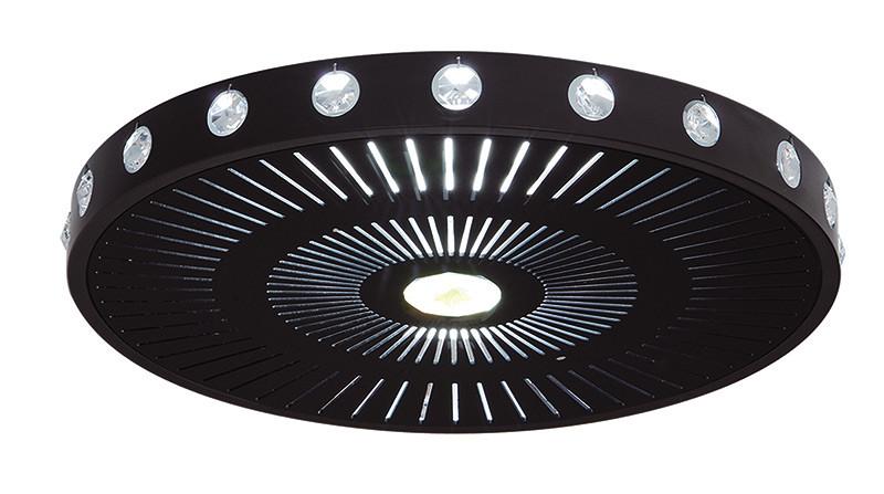 Artpole Светильник подвесной UFO C BK, T5, 1х36 Вт, 1х22 Вт, H8,8хD50, черный artpole светильник подвесной melone c bk e14 1х25 вт h11 5 200 макс хd24 9 черный шт