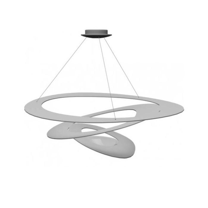 Фото Artpole Светильник подвесной Elegie C WH, R7S, 1х200 Вт, H200 (макс)хD100, белый. Купить с доставкой