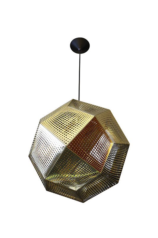 Artpole Светильник подвесной Kristall C1 GD, Е27, 1х60 Вт, H200 (макс)хD32, золото, шт