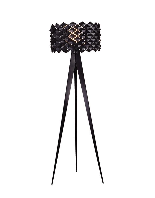 Artpole Светильник напольный Mosaik F BK, E27, 1х100 Вт, Н158хD48, черный (2 кор.)