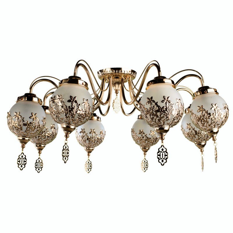 ARTE Lamp A4552PL-8GO люстра arte lamp sparkles a3054lm 8go