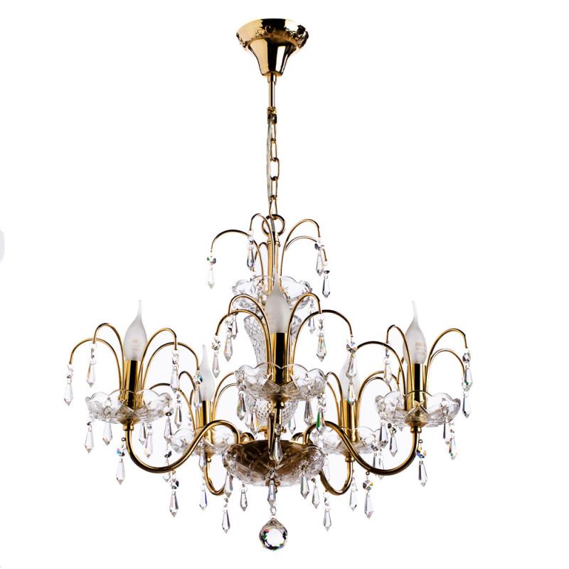 ARTE Lamp A3054LM-5GO люстра arte lamp sparkles a3054lm 8go