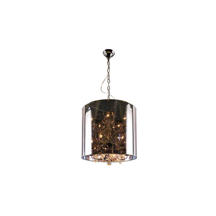 Artpole Светильник подвесной Quelle P1, E14 9х40 Вт, H120(макс)хD40, прозрачно-дымчатый, шт