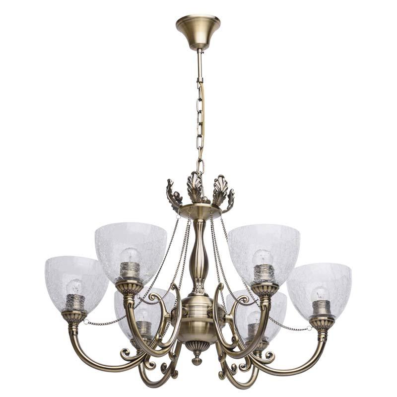 MW-Light 481011506 Аманда бра аманда 1 х 60вт e27 220в бронза антик стекло подвеска