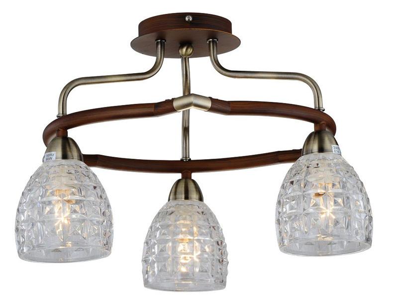 где купить N-Light 412-03-53ABW antique brass + walnut по лучшей цене