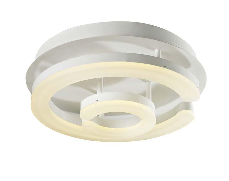 ST-Luce SL887.502.02 st luce люстра потолочная светодиодная st luce 1 плафон белый sl887 502 02