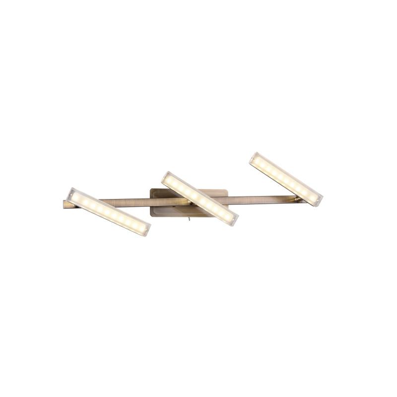 IDLamp 406/3A-Oldbronze потолочный светильник idlamp 406 406 3a oldbronze