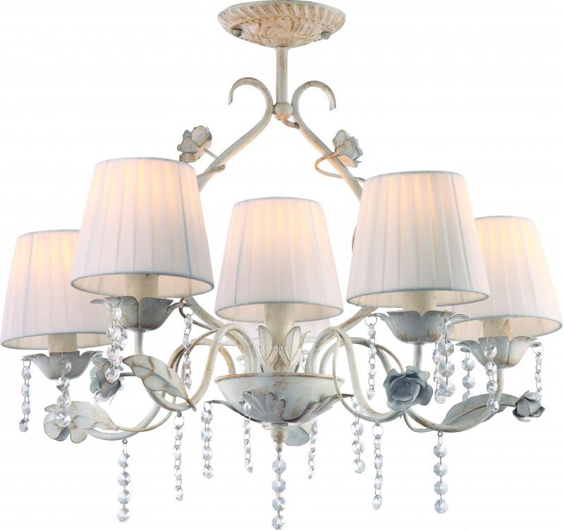ARTE Lamp A9514PL-5-1WG люстра на штанге arte lamp kenny a9514pl 5 1wg