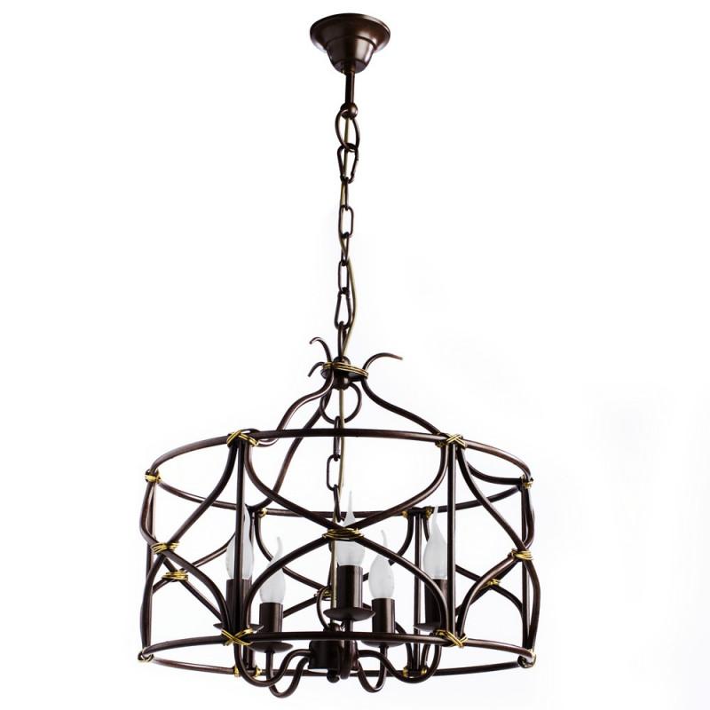 ARTE Lamp A8959SP-5BR подвесная люстра arte lamp circolo a9519lm 5br