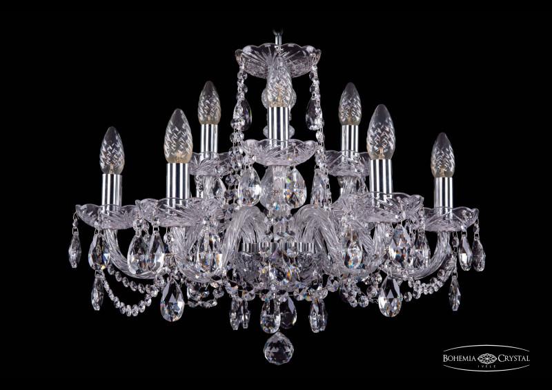 Bohemia Ivele Crystal 1402/6+3/195/Ni bohemia ivele crystal люстра bohemia ivele crystal 1402 6 3 195 ni