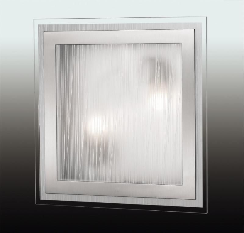 Odeon Light 2737/2W ODL15 811 никель/стекло Н/п светильник E27 2*60W 220V ULEN meziere wp101b sbc billet elec w p