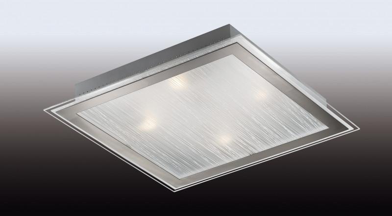 Odeon Light 2737/4W ODL15 811 никель/стекло Н/п светильник E27 4*60W 220V ULEN meziere wp101b sbc billet elec w p