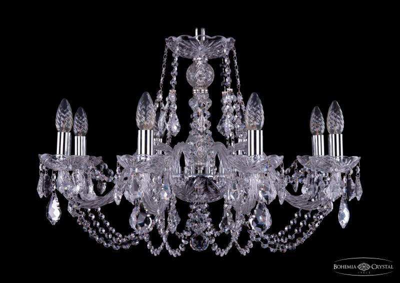Bohemia Ivele Crystal 1406/8/240/Ni/Leafs bohemia ivele crystal люстра bohemia ivele crystal 1406 5 160 ni leafs