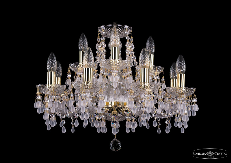 Bohemia Ivele Crystal 1410/8+4/195/G/V0300 стелс 1410 8