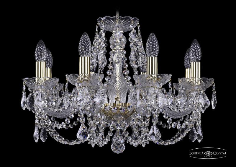 Bohemia Ivele Crystal 1402/8/195/G/Leafs bohemia ivele crystal 1402 8 195 ni leafs