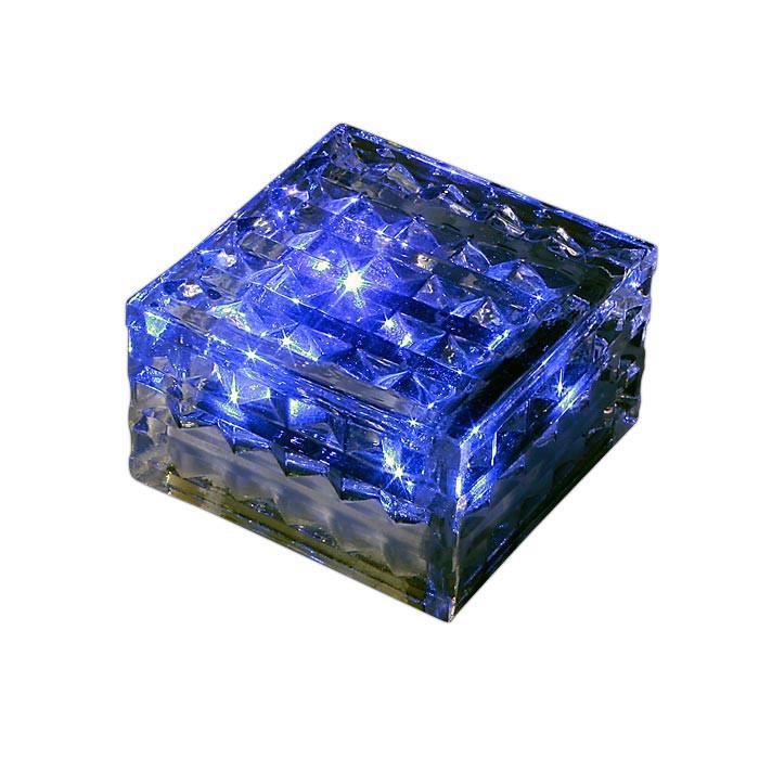 Фото Novotech 357241 NT15 078 прозрачный Ландшафтный светильник IP68 4LED синих 0,75W 1,2V TILE. Купить с доставкой