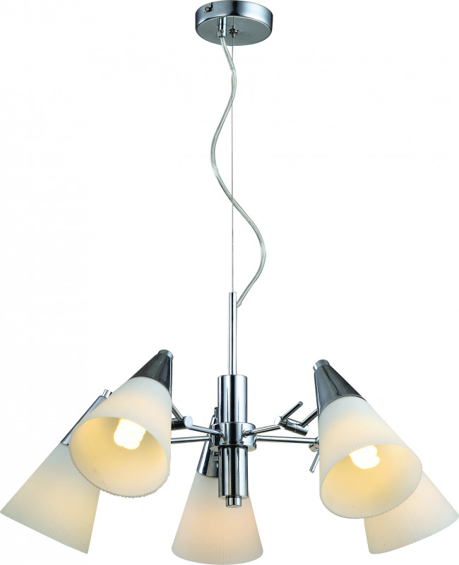 ARTE Lamp A9517LM-5CC подвесная люстра arte lamp brooklyn a9484sp 5cc