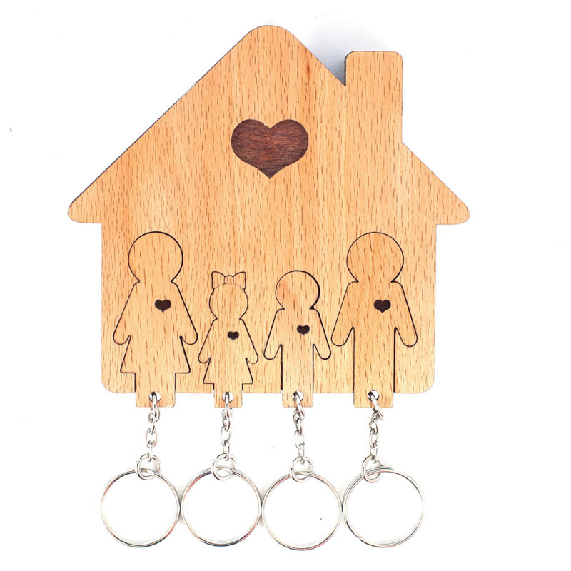 Mimi Ключница «Семья с сыном и дочерью» mimi la rue женщинам mp3