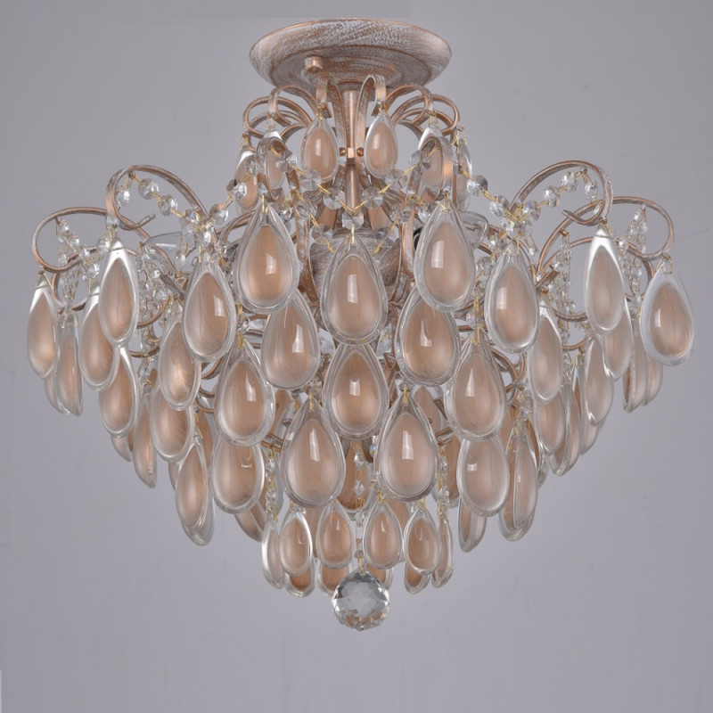Crystal Lux SEVILIA PL4 GOLD crystal lux atlas pl4 gold