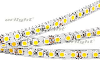 Arlight Лента 5 метров RT6-5050-96 24V Warm White 3x (480 LED) лента arlight 013344