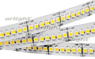 Arlight Лента 5 метров RT6-3528-240 24V Day White 4x (1200 LED) лента arlight 014414