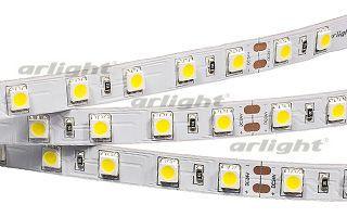 Arlight Лента RT 2-5000 24V White 2X (5060, 300 LED, LUX) лента arlight 021412